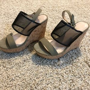 Torrid 4 1/2 inch wedge sandals